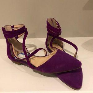 Steve Madden Purple Flats